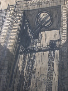The Umeda Sky Building (detail)
